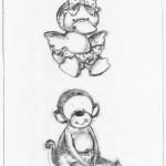 duck & monkey